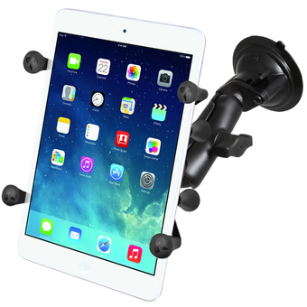 RAM-B-166-UN8U  SUCTION CUP MOUNT UNIVERSAL X-GRIP 7 INCH TABLETS PLUS THE HEMA HN7