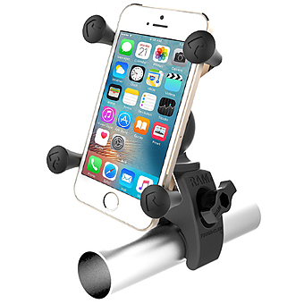 RAM-HOL-UN7-400  RAM Tough-Claw Mount with Universal X-Grip Phone Holder