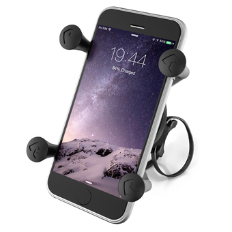 RAP-274-1-UN7U  RAM EZ-ON-OFF™ Bicycle Mount with Universal X-Grip® Phone Holder