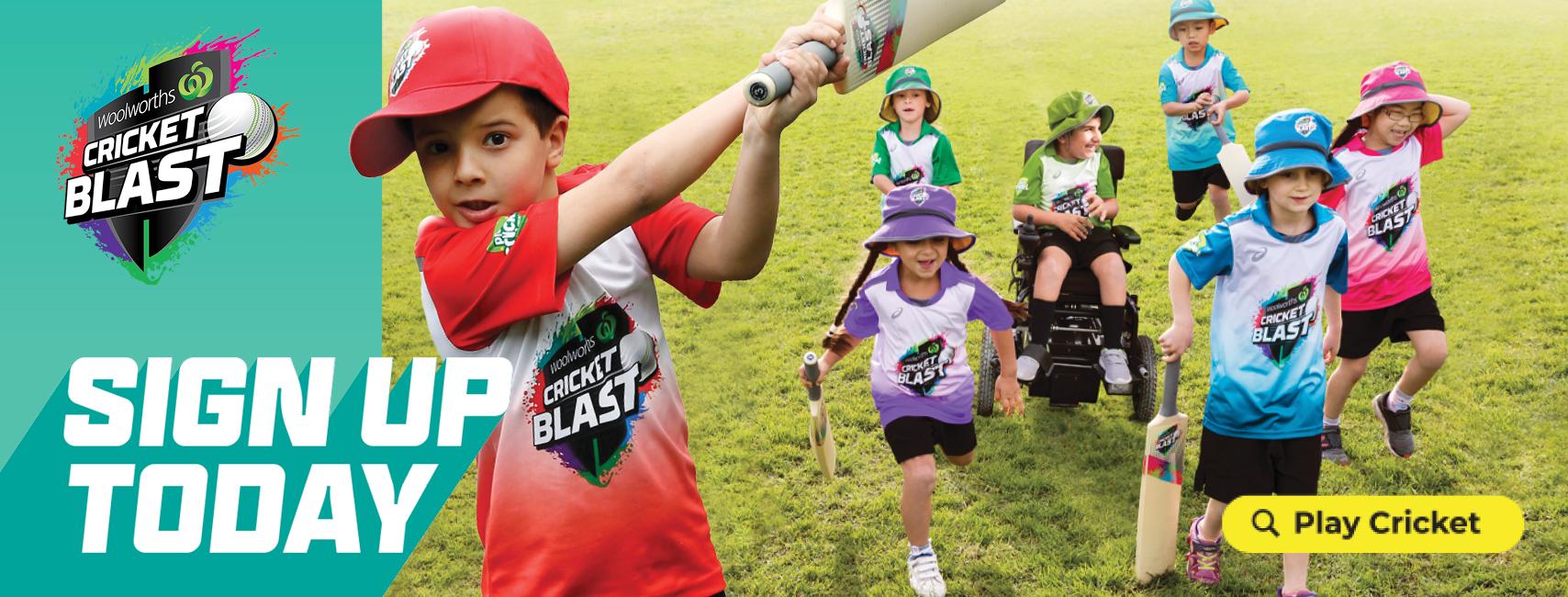 Cricket Blast Registration