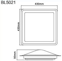 BL5021 Dimension