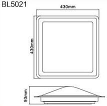 BL5021 Dimension