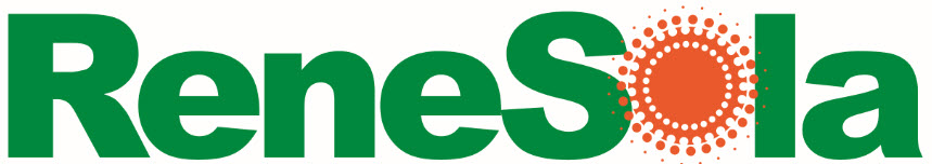 ReneSola Logo and Link to Products