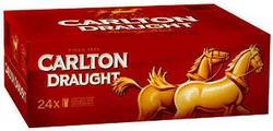 CARLTON DRAUGHT 375ML CAN