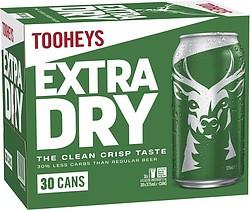 TOOHEYS EXTRA DRY 375ML BLOCK