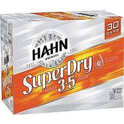 HAHN SUPER DRY 3.5% 375ML 30PK BLOCKS