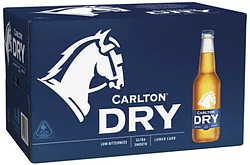 CARLTON DRY 330ML STUBBIES