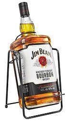 JIM BEAM WHITE CRADLE 4.5LTR