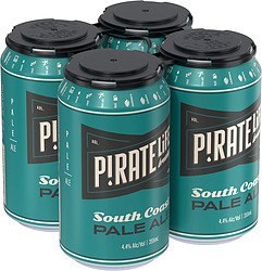 PIRATE LIFE PALE ALE 355ML CANS 4PK