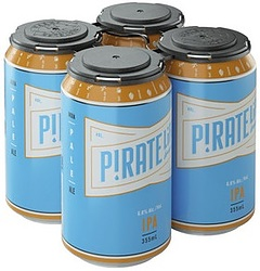 PIRATE LIFE IPA 6.8% 355ML CANS 4PK