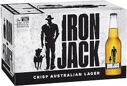IRON JACK 3.5% 330ML STUBBIES