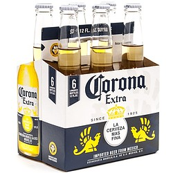 CORONA 355ML 6 PACK STUBBIES