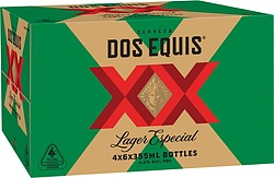 DOS EQUIS XX LAGER 355ML STUBBIES