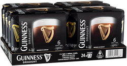 GUINNESS DRAUGHT 440ML CANS