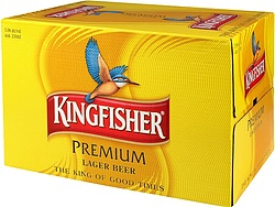 KINGFISHER 330ML STUBBIES