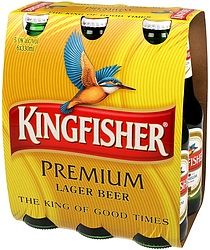 KINGFISHER 6PK STUBBIES