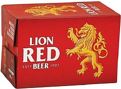 LION RED STUBBIES