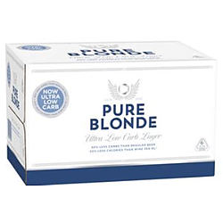 PURE BLONDE 355ML STUBBIES