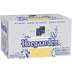 HOEGAARDEN 330ML STUBBIES