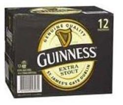 GUINNESS EX STOUT 750ML BTL 12PK