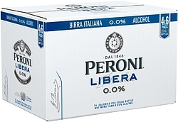PERONI LIBERA 0% STUBBIES
