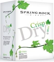 SPRINGROCK CRISP DRY WHITE 4L