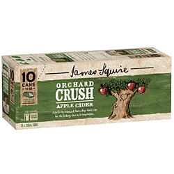 JAMES SQUIRE APPLE CIDER 330ML CANS 10PK