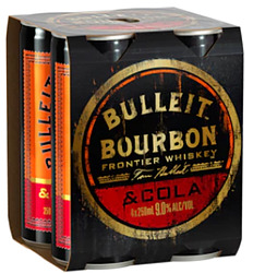 BULLET and COLA 9% CANS 4PK