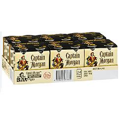 CAPTAIN MORGAN SPICED 6% & COLA CANS