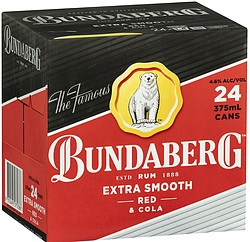 BUNDABERG RED AND COLA CUBES
