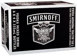 SMIRNOFF ICE BLACK STUBBIES