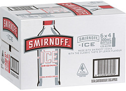 SMIRNOFF ICE RED STUBBIES