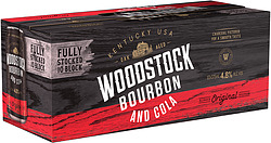 WOODSTOCK 4.8% AND COLA CANS 10PK