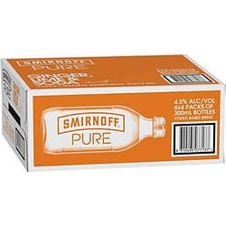 SMIRNOFF PURE GINGER LIME AND SODA STUBBIES
