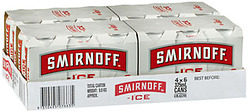 SMIRNOFF ICE RED CANS