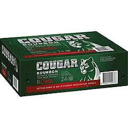 COUGAR AND COLA CANS