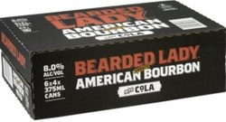 BEARDED LADY & COLA 8% CANS