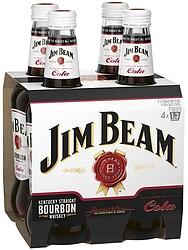 JIM BEAM WHITE AND COLA STUBBIES