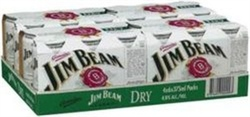 JIM BEAM AND DRY CAN