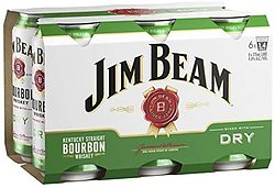 JIM BEAM AND DRY CAN 6PK