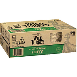 WILD TURKEY AND DRY CANS