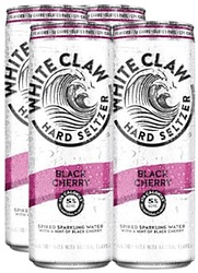 WHITE CLAW BLACK CHERRY CANS 4PK