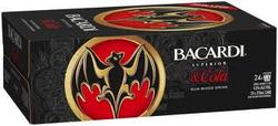 BACARDI & COLA CANS