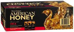 WILD TURKEY HONEY AND COLA CANS