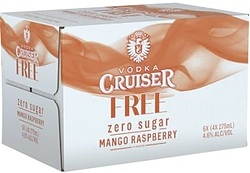 CRUISER S-FREE MANGO RASPBERRY 275ML BTL 24PK