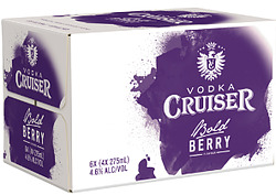 CRUISERS BOLD BERRY STUBBIES