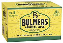BULMERS ORIGINAL STUBBIES