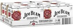 JIM BEAM WHITE AND ZERO CANS