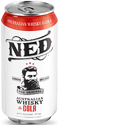 NED WHISKY + COLA CAN 4.8%