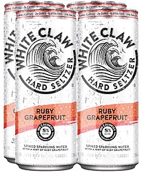WHITE CLAW RUBY GRAPEFRUIT CANS 4PK - UNAVAILABLE